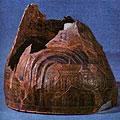 Музей истории города Еревана. Шлем царя Сардура П. VIII в. до н. э. Бронза